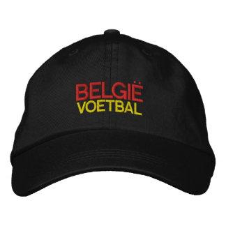 BELGIE VOETBAL EMBROIDERED BASEBALL CAP