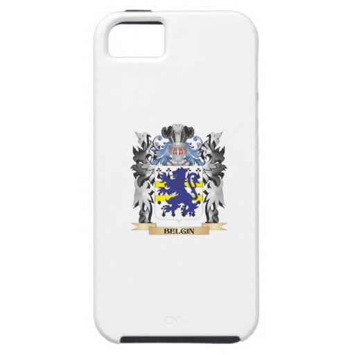 Belgin Coat of Arms - Family Crest iPhone 5 Case