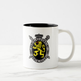 Belgique Belgie Two-Tone Coffee Mug