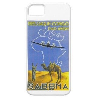 ~ Belgique Congo de Sabena iPhone 5 Carcasa