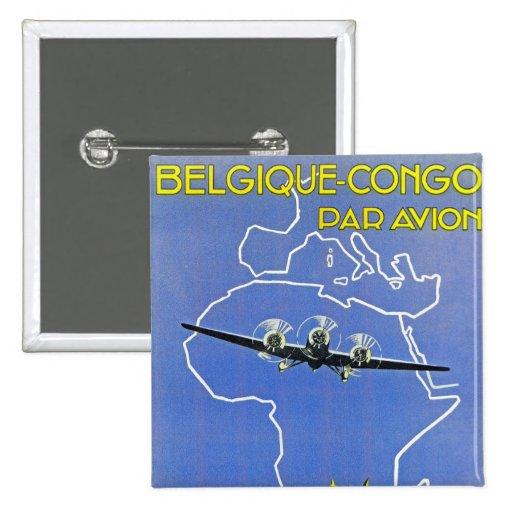 ~ Belgique Congo de Sabena Pin