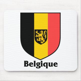 Belgique Crest / Belgium Flag Mouse Pad