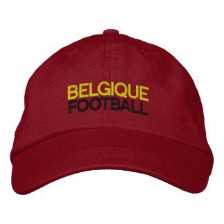 BELGIQUE FOOTBALL EMBROIDERED BASEBALL CAP