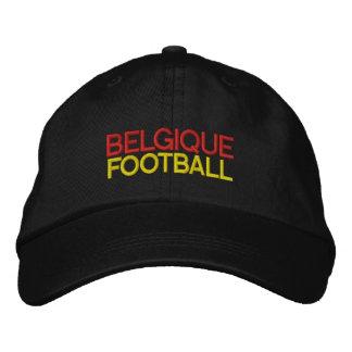 BELGIQUE FOOTBALL EMBROIDERED BASEBALL HAT