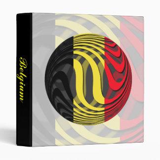 Belgium #1 3 ring binder