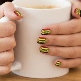 Belgium #1 minx ® nail art