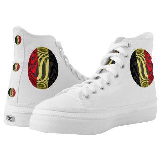 Belgium #1 printed shoes