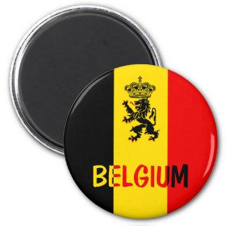 Belgium 2 Inch Round Magnet