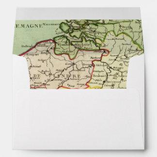 Belgium 3 envelope