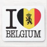 Belgium B Love v2 Mouse Pad