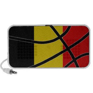 Belgium Basketball Doodle Speaker