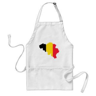 Belgium BE Adult Apron