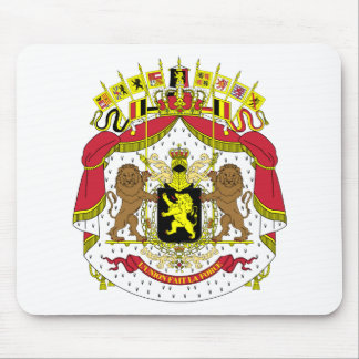 Belgium BE Mouse Pad