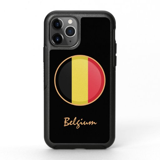 Belgium & Belgian Flag fashion /sports OtterBox Symmetry iPhone 11 Pro Case