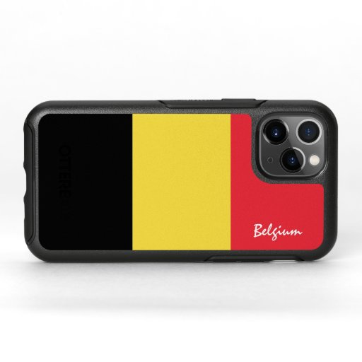 Belgium & Belgian Flag fashion, travel /sport OtterBox Symmetry iPhone 11 Pro Case