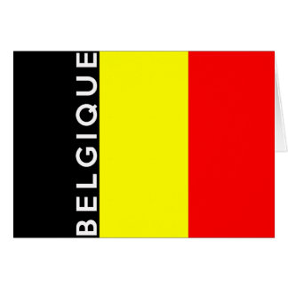 belgium belgique country french text name card