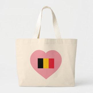 Belgium / Belgique Large Tote Bag