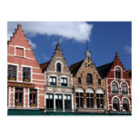 Belgium, Brugge (aka Brug or Bruge). UNESCO 2 Postcard
