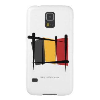 Belgium Brush Flag Galaxy S5 Cover