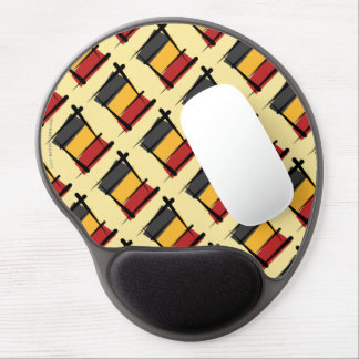 Belgium Brush Flag Gel Mouse Pads
