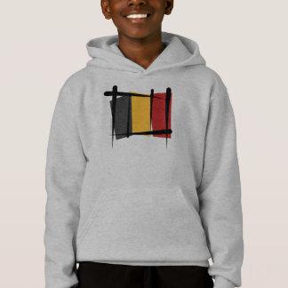 Belgium Brush Flag Hoodie