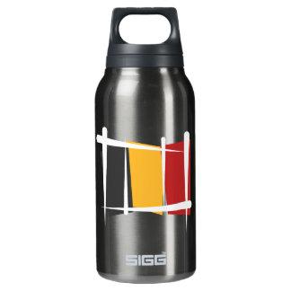 Belgium Brush Flag Insulated Water Bottle