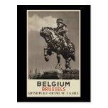 Belgium Brussels Postcard