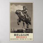 Belgium Brussels Posters