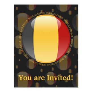 Belgium Bubble Flag Card