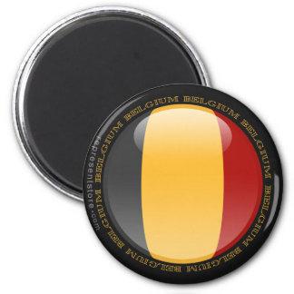 Belgium Bubble Flag Magnets