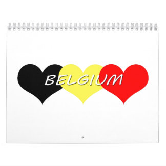 Belgium Calendar