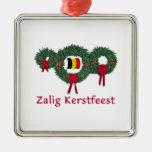 Belgium Christmas 2 Christmas Tree Ornaments