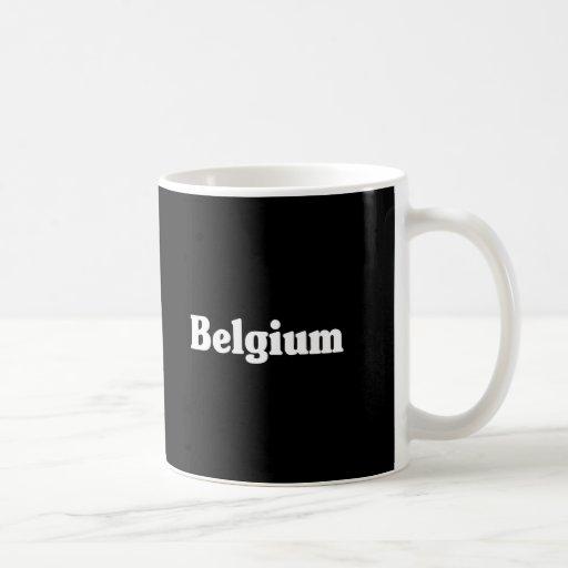 Belgium Classic Style Classic White Coffee Mug