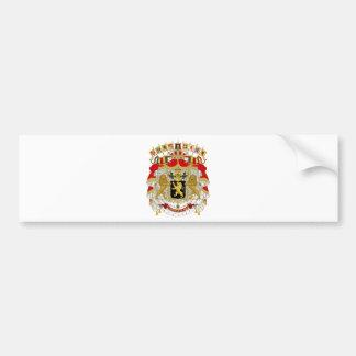 Belgium Coat of Arms Bumper Stickers