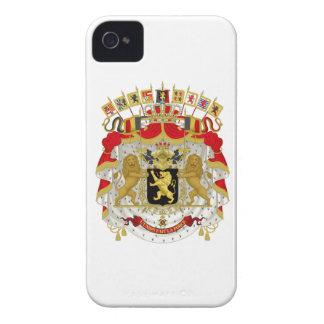 Belgium Coat of Arms iPhone 4 Case-Mate Cases