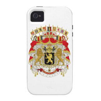Belgium Coat of Arms iPhone 4 Case