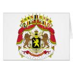 Belgium Coat of Arms Greeting Cards