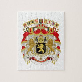 Belgium Coat of Arms Puzzle