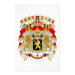 Belgium Coat of Arms Stationery