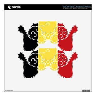 Belgium Decal For PS3 Controller