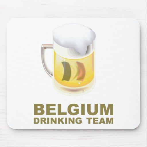 Belgium Drinking Team Mousepads