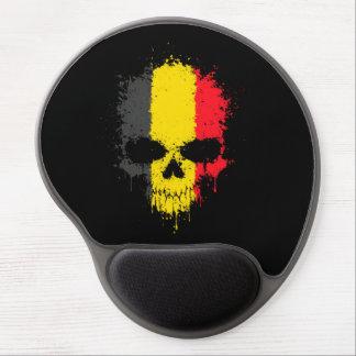 Belgium Dripping Splatter Skull Gel Mouse Mats