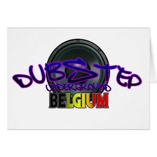 Belgium DUBSTEP Dub Grime Reggae Electro Card