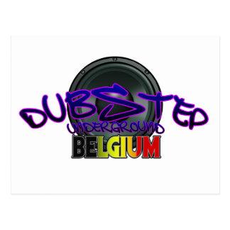 Belgium DUBSTEP Dub Grime Reggae Electro Postcard
