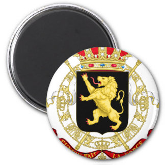 Belgium Emblem Coat of Arms - Armoiries Belgique Magnet