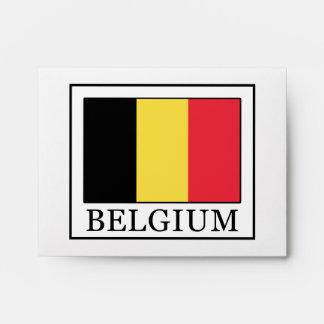 Belgium Envelope