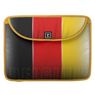 Belgium Flag 15 inch MacBook Pro Sleeve