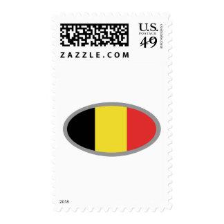 Belgium flag design! stamp