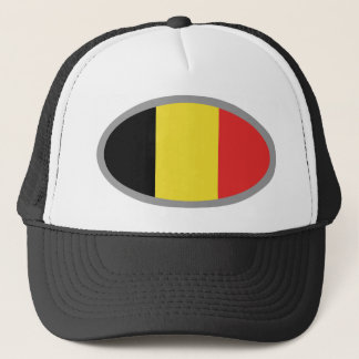 Belgium flag design! trucker hat