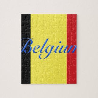Belgium flag jigsaw puzzle